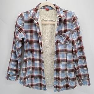 Brioso | Warm Lined Plaid Shirt | Multicolor